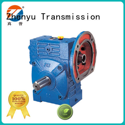 Zhenyu hot-sale worm gear speed reducer free quote for mining