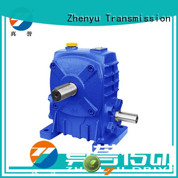 Zhenyu eco-friendly inline gear reducer free design for chemical steel