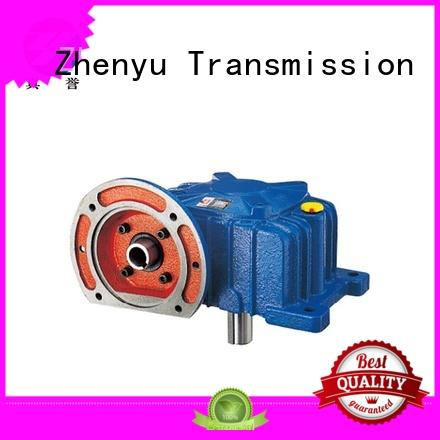 Zhenyu power speed reducer gearbox certifications for light industry
