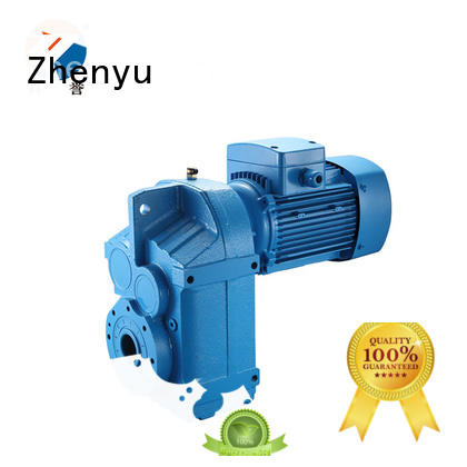 Zhenyu shaft speed reducer China supplier for construction