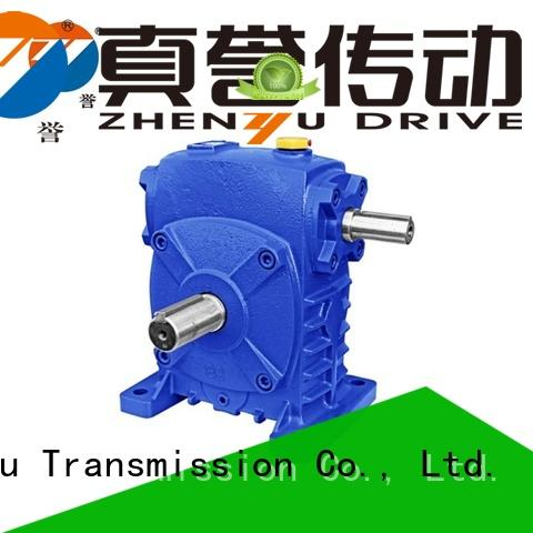 Zhenyu new-arrival worm gear speed reducer free design for printing