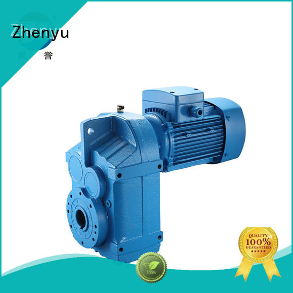 Fseries Helical Gearbox with inline motor for converter / mixer agitator