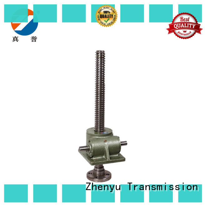 Zhenyu jack manual screw jack manufacturer for machinery