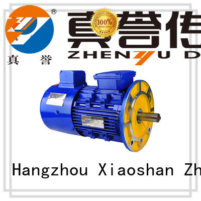 Zhenyu new-arrival ac electric motors free design for machine tool