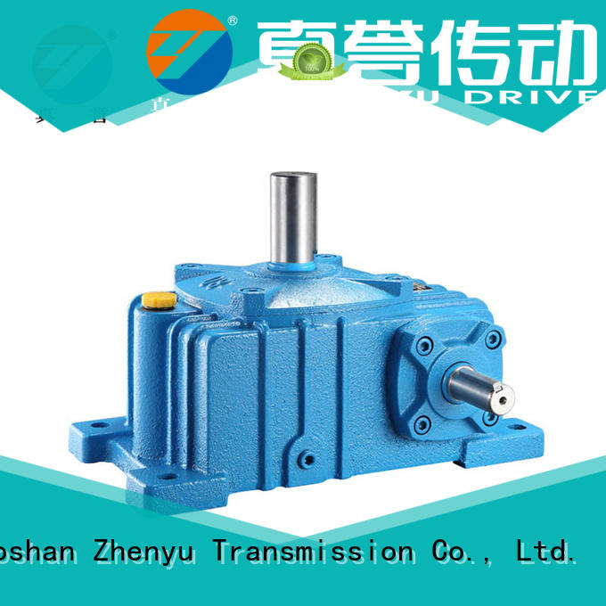 Zhenyu green speed reducer widely-use for chemical steel