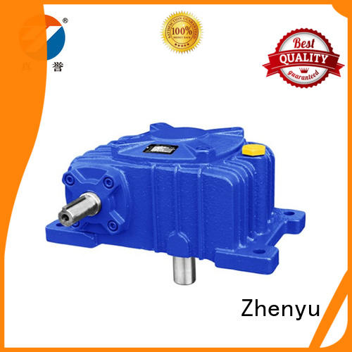 Zhenyu first-rate gear reducer box free design for lifting