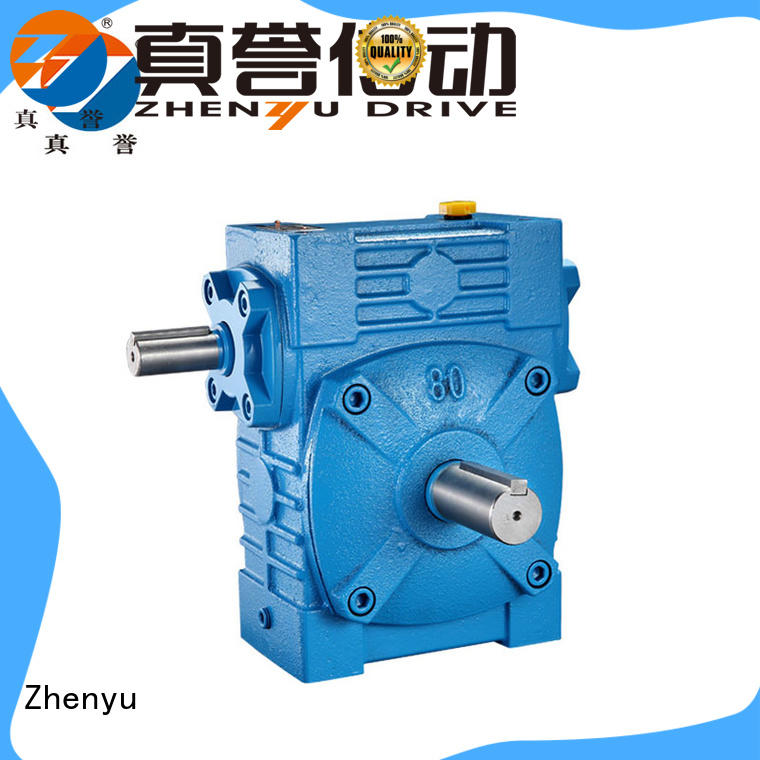 Zhenyu low cost speed reducer gearbox for printing