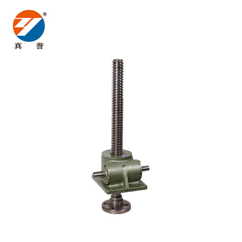 SWL screw jack with caster wheel