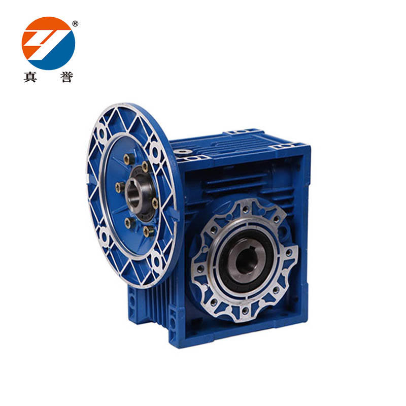 NMRV 1:50 ratio speed reducer gearbox blue worm speed reducer