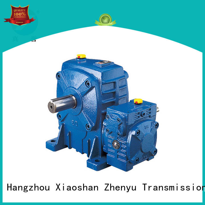 Zhenyu worm gear reducer China supplier for cement