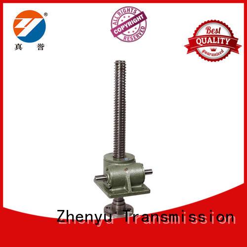 Zhenyu customized mechanical screw jack factory for hydraulics