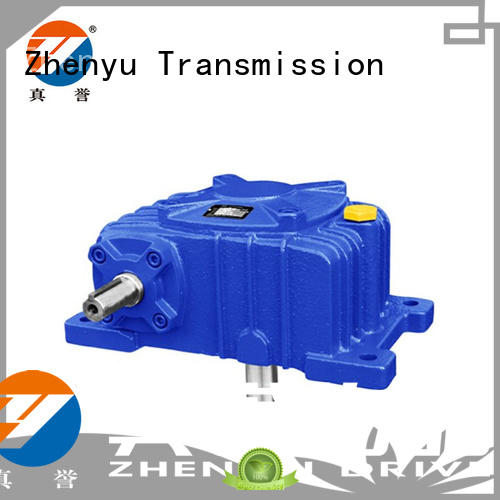 Zhenyu iron worm gear reducer China supplier for mining