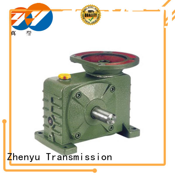 Zhenyu high-energy inline gear reduction box order now for lifting
