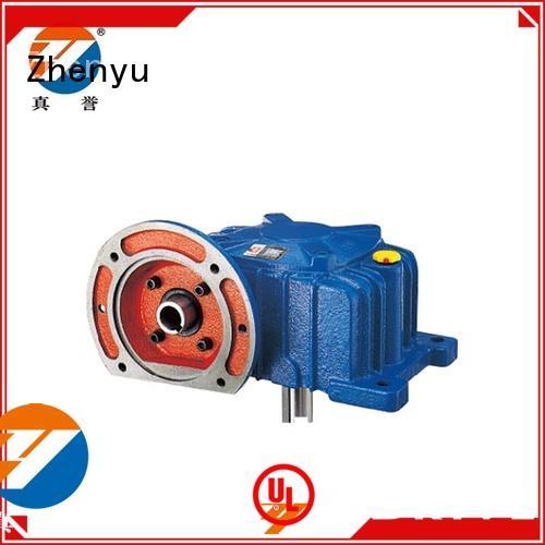 Zhenyu wpwd worm gear reducer for wind turbines