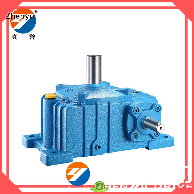 Zhenyu fine- quality electric motor speed reducer for construction