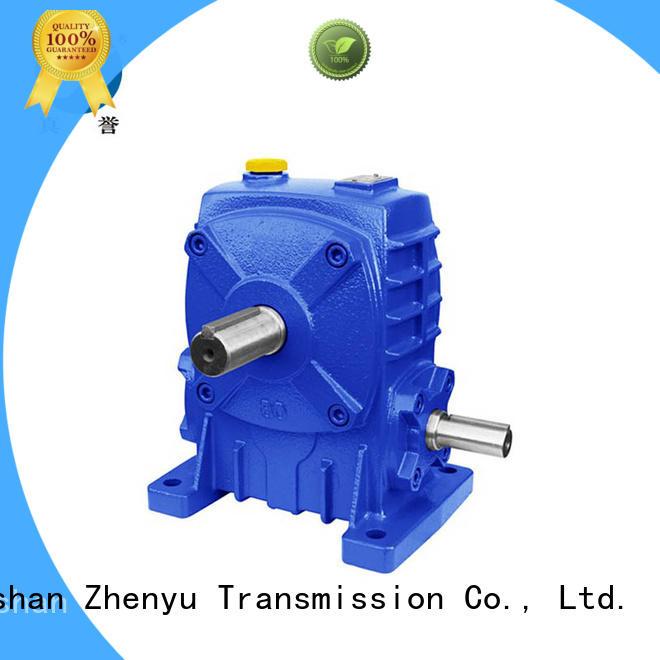Zhenyu effective worm gear reducer certifications for transportation