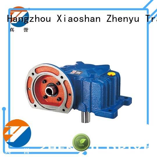 Zhenyu torque gear reducers free design for light industry