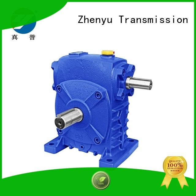 Zhenyu reducer transmission gearbox free quote for transportation
