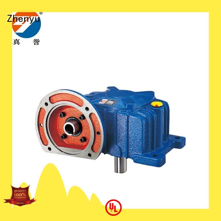 Zhenyu fine- quality gear reducers certifications for construction