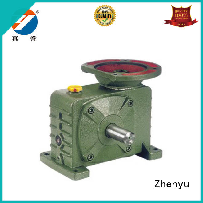 Zhenyu low cost inline gear reduction box free quote for mining