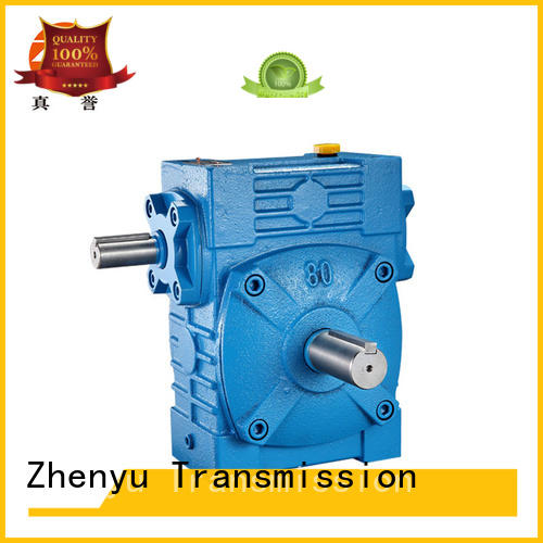 Zhenyu low cost reduction gear box long-term-use for transportation