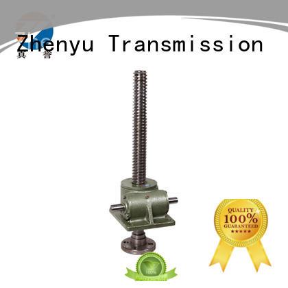 Zhenyu caster screw jack mechanism producer for lifting