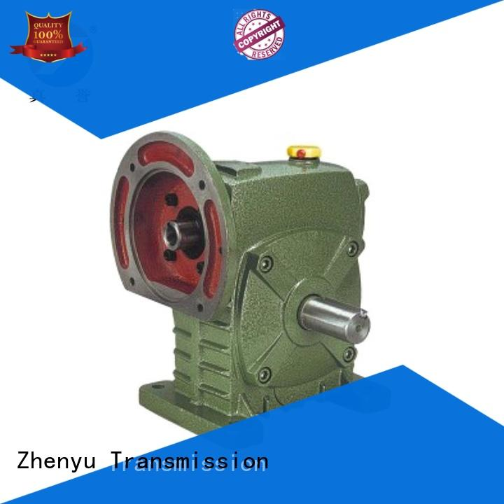 Zhenyu blue inline gear reduction box long-term-use for light industry