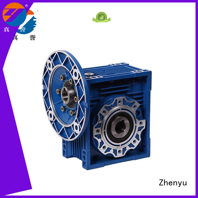 Zhenyu hot-sale worm gear speed reducer long-term-use for light industry