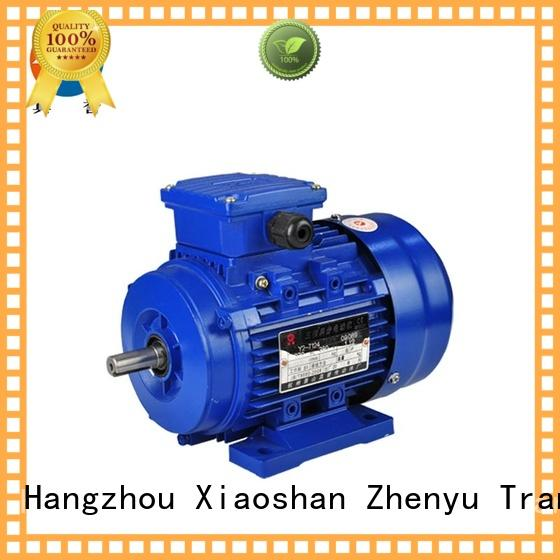 Zhenyu newly single phase electric motor inquire now for textile,printing