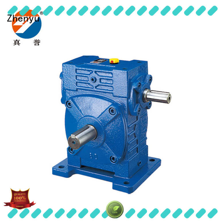 Zhenyu hot-sale worm drive gearbox for construction