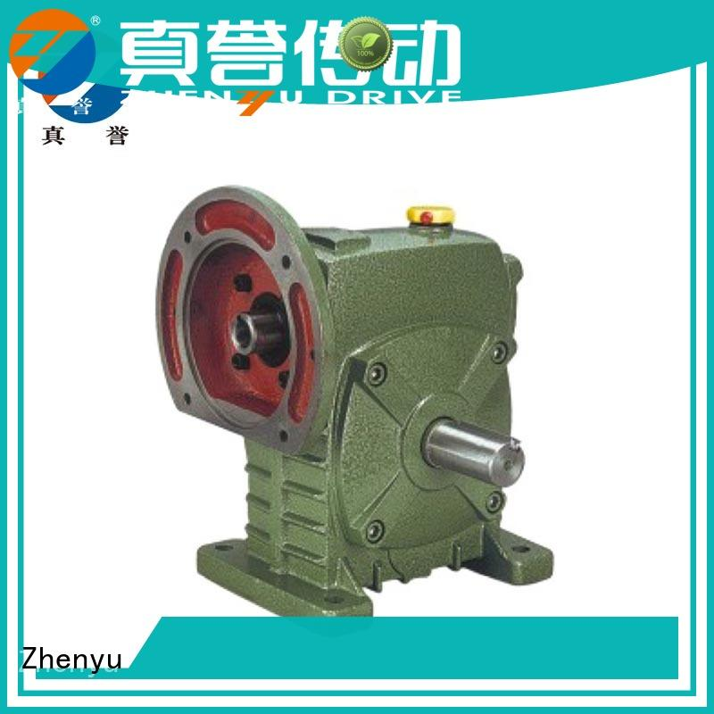 Zhenyu price gear reducer box free design for transportation