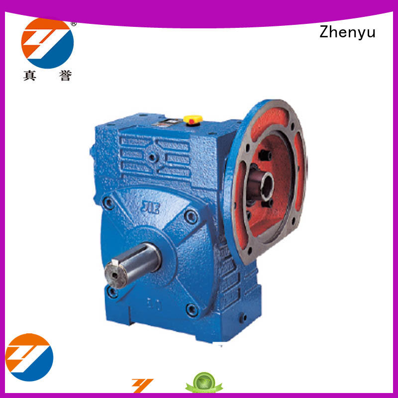 Zhenyu reverse speed reducer order now for light industry