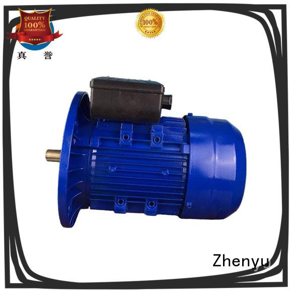 Zhenyu hot-sale ac electric motors free design for machine tool