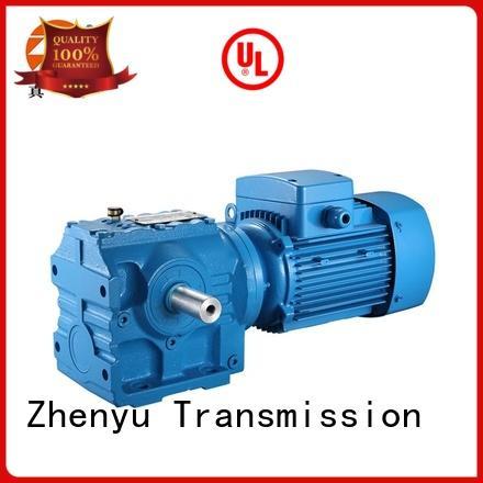 Zhenyu small worm gear speed reducer for printing