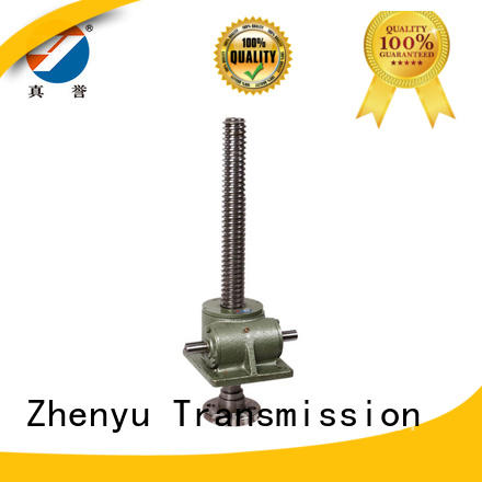 compact design manual screw jack caster equipment for light industry