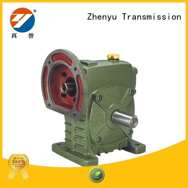 Zhenyu converter variable speed gearbox China supplier for lifting