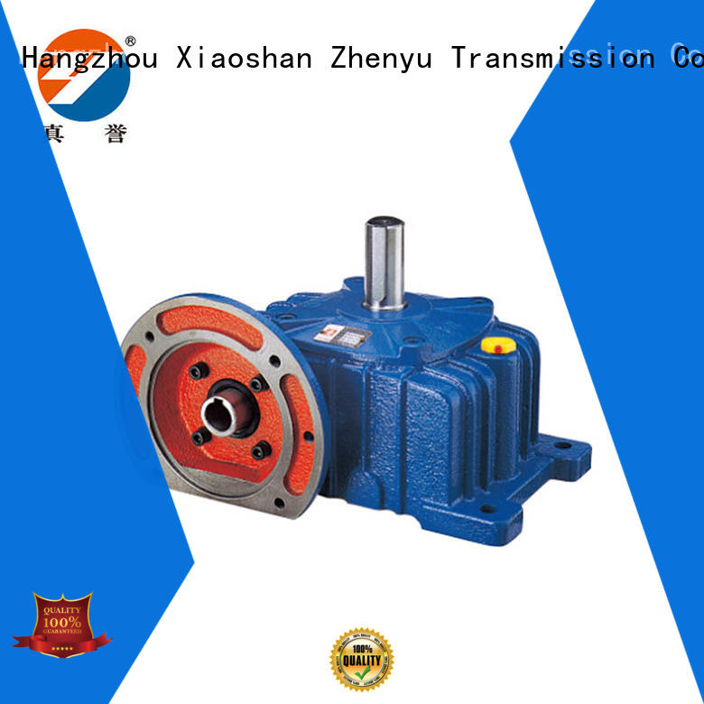 shaft reduction gear box certifications for light industry Zhenyu