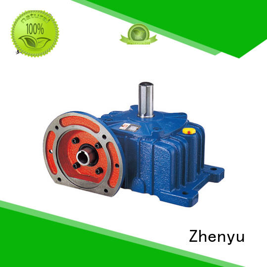 Zhenyu hot-sale inline gear reducer certifications for construction