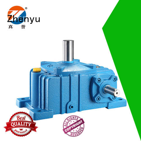 Zhenyu reducer speed reducer free design for light industry