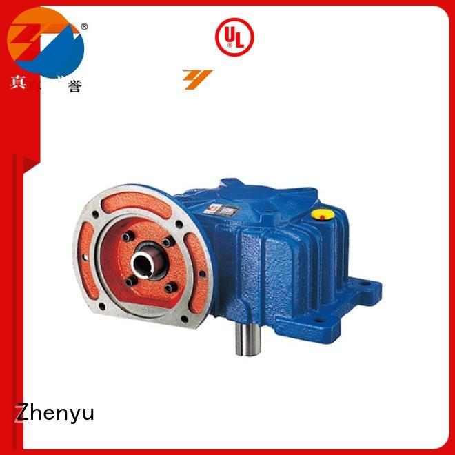Zhenyu high-energy gear reducer gearbox free quote for construction