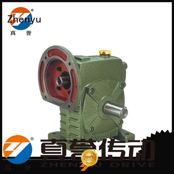 Zhenyu wpwd worm gear reducer certifications for printing