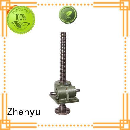 Zhenyu caster jack screw flange manufacturer for light industry