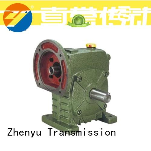Zhenyu first-rate motor reducer China supplier for wind turbines