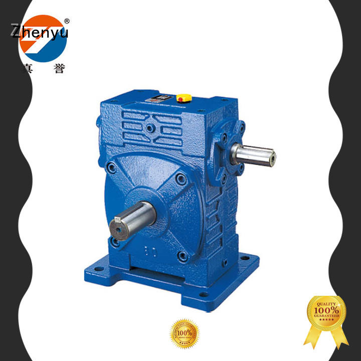 Zhenyu high-energy gear reducer box certifications for printing