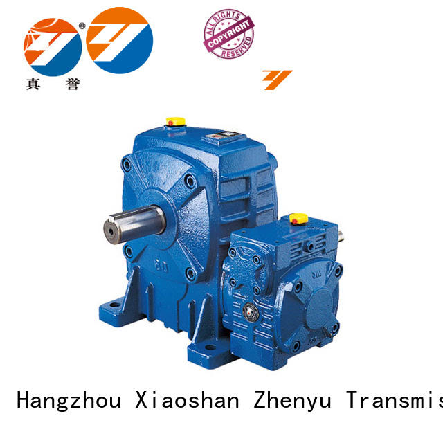 Zhenyu effective inline gear reducer certifications for chemical steel