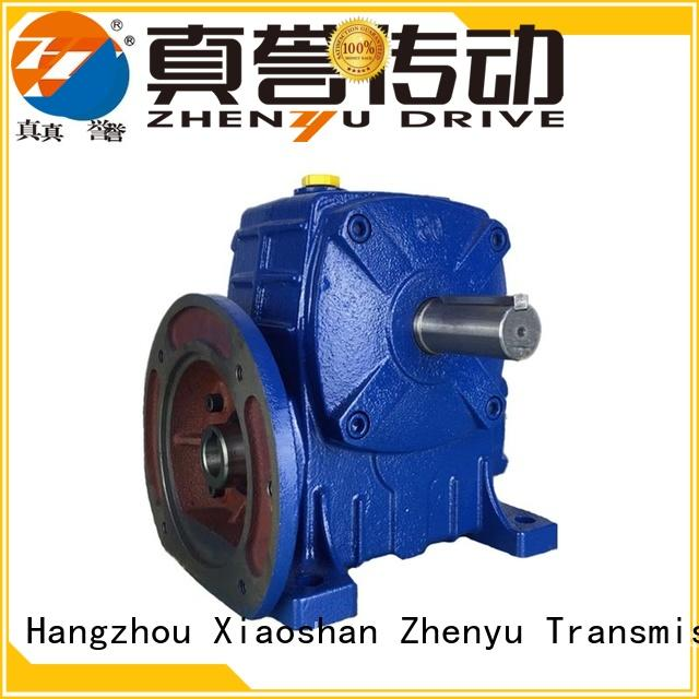 Zhenyu worm planetary gear box certifications for lifting