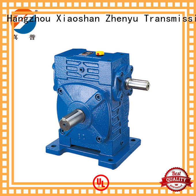Zhenyu shape worm drive gearbox free quote for wind turbines