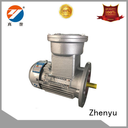 Zhenyu explosionproof single phase electric motor for wholesale for machine tool