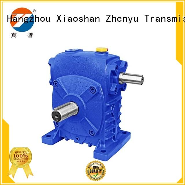 Zhenyu speed gear reducer certifications for construction