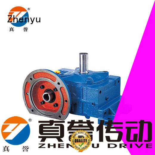 Zhenyu high-energy sewing machine speed reducer free design for mining